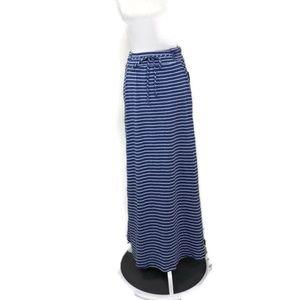 Studio 253 NWT ($24) Maxi Blue White Strip Knit